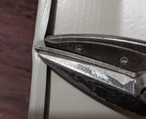 crimp siding to keep it from becoming loose